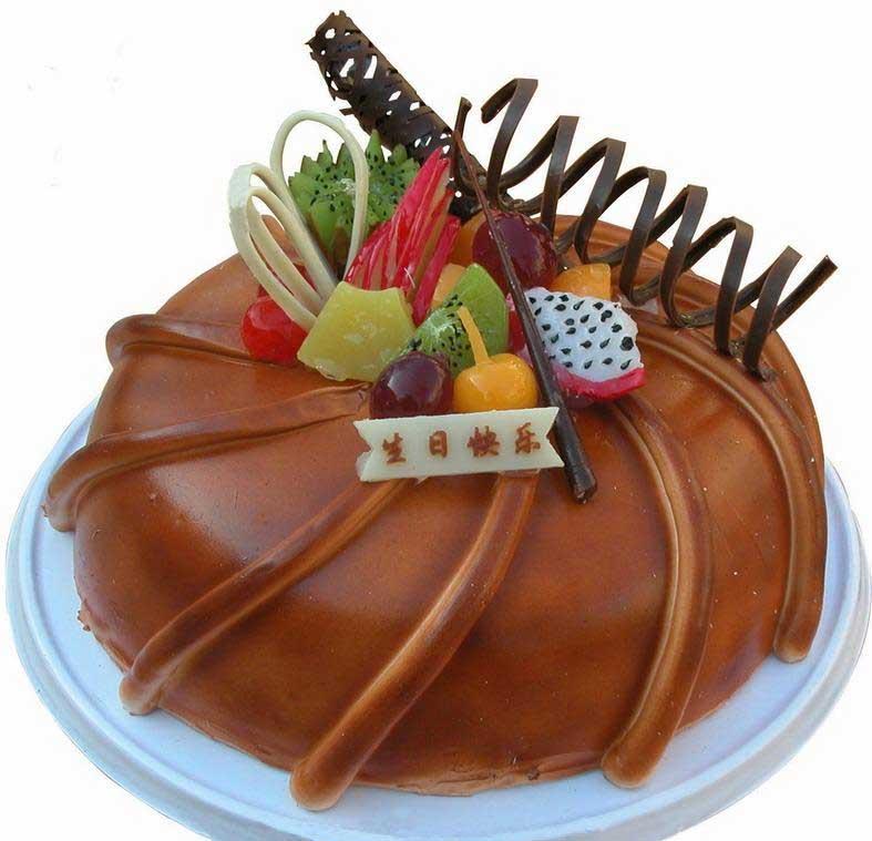 幼儿园生日蛋糕盘手工